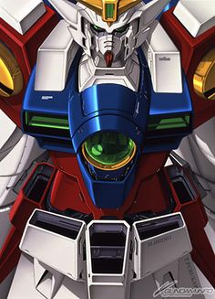 The Gundam Wing mobile suit
