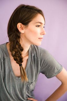 100 of the Best Braided Hairstyles You Havent Pinned Yet via Brit   Co