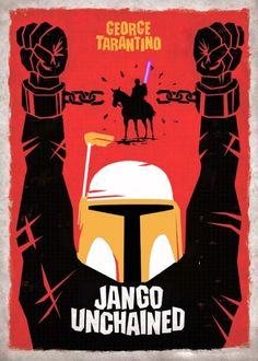 Django Unchained / Star Wars Mash-up poster (AliciaRoseBane)