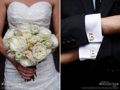 Groom's gift cuff-link inspiration
