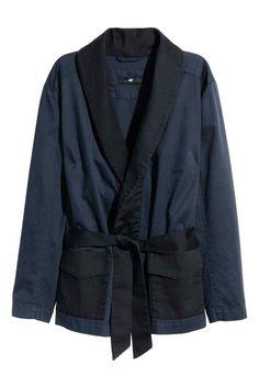 Blazer avec ceinture à nouer | H&M