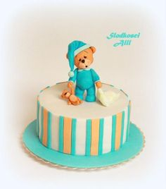 Teddy Bear Cake by Alll