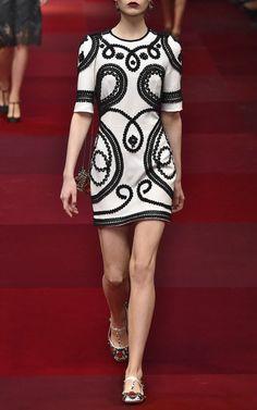 Dolce & Gabbana Spring/Summer 2015 Trunkshow Look 42 on Moda Operandi