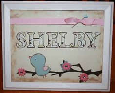 nursery art designed by Brandi Dickerson
