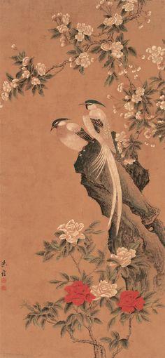 Shen Quan (沈銓) ,  花鸟