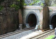 N Scale Model Trains, Scale Models, Train Tunnel, Locomotive, Planer, Entrance, Model Railroader, Scenery, Layout