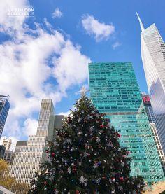 Navidades en Nueva York que ver y hacer arbol Bryant Park