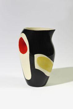 Roland Brice; Glazed Ceramic Vase, 1950.