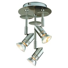 Catalina Lighting 3-Light Fixed Track Light - 19210-000