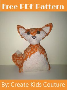 Felix the Fox - Free Pattern from Create Kids Couture!
