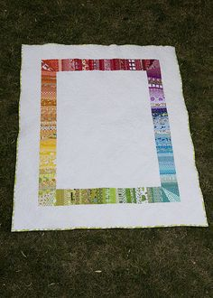 Strings Quilt back. Front is quite impressive as well. Great idea and stash buster