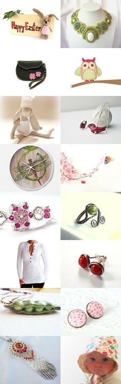 Welcome SPRING  by Piros on Etsy--Pinned with TreasuryPin.com