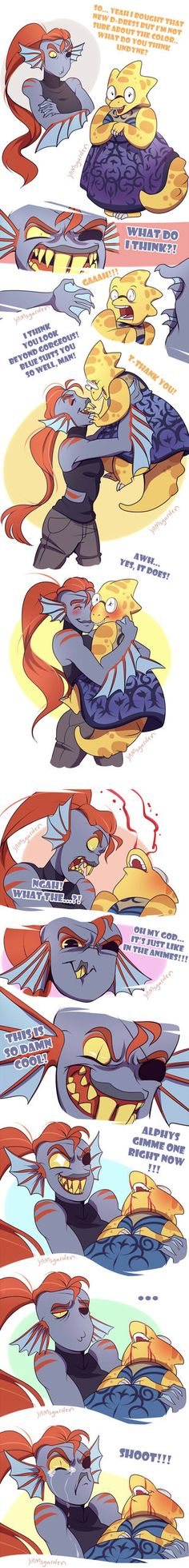 TUMBLR: yamsgarden.tumblr.com/post/136… *Thanks a bunch everyone for reporting when my stuff's reposted, I can't tell you how much I appreciate Yesssss I know, I know, Undyne should have sti...