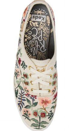 a17f834d748 Keds® x Rifle Paper Co. Herb Garden Embroidered Sneaker (Women)