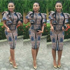 is an African fashion and lifestyle website that showcase trendy styles and designs, beauty, health, hairstyles, asoebi and latest ankara styles. Ankara Dress Styles, Latest Ankara Styles, Latest African Fashion Dresses, Ankara Gowns, African Dresses For Women, African Print Dresses, African Print Fashion, Africa Fashion, African Wear