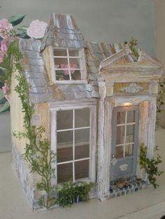 shabby chic doll houses   Shabby Chic Maisonnette de Provence ...