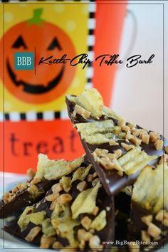 Kettle Chip Toffee Bark | Big Bang Bites | bigbangbites.com