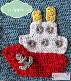Boys Will Be Boys Blanket Ship Applique