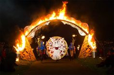 beltane fire festival. photo by MacDor Photography