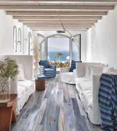 Beach House Furniture, Beach House Decor, Home Furniture, Tropical Home Decor, Tropical Houses, Shabby Chic Porch, Tiny House Nation, Mediterranean Decor, Mediterranean Architecture