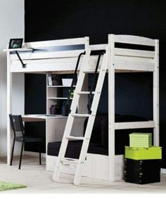 Awesome White Loft Bed Ideas And Ladder