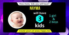 How many kids will you have?