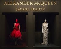 """Alexander McQueen Exhibit, """"Savage Beauty"""" at the MET last year in NYC.  I loved it so much I posted an article to the blog site uppereast.com.    Heres my blog article:   http://uppereastsideinformer.blogspot.com/2011/05/astonishment-atrocity-alexander-mcqueen.html"""