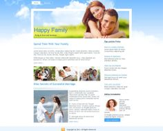 Happy Family - Like this design? Have it customized with your logo and content! - JoomlaNinja.in