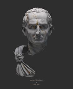 Illustrator and Cg artist from Saint-Petetrsburg Interesting Drawings, Empire Romain, Greek Statues, Vaporwave Art, Roman Sculpture, Cg Artist, Music Artwork, The Orator, Greek Art