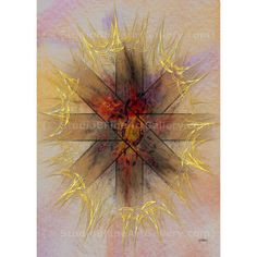 Light Gate - By John Robert Beck  This abstract art was created in 2010. Bold color makes Light Gate stand out. $3.00