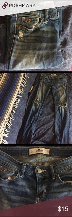 Hollister jeans size3S w26 L31 Good condition Hollister Jeans