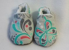 girl soft sole shoes by TheTinyDictator on Etsy