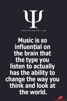 ideas birthday quotes for me this is me life Psychology Says, Psychology Fun Facts, Psychology Quotes, Motivacional Quotes, Music Quotes, Rock Quotes, I Love Music, Music Is Life, Motif Music
