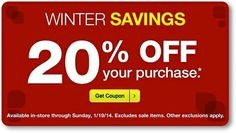 check your email for a possible 20% off coupon from cvs!  http://www.iheartcvs.com/2014/01/20-off-coupons-issued-to-some-customers_16.html