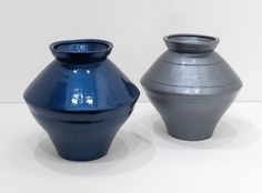 Ai Weiwei Han Dynasty Vases in Auto Paint, 2013 Han Dynasty vases (202 BC-202 AC) and paint 43 x 39 x 39 cm 46 x 42 x 42 cm