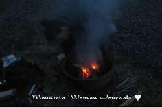 Mountain Woman Journals - Survival Series #3 We continue this week with additional traditional fire starting methods and how to create char. | TrayerWilderness.com