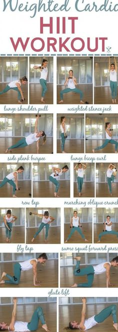 This strength and endurance workout blasts calories and tones with plyometric movements and weight training.