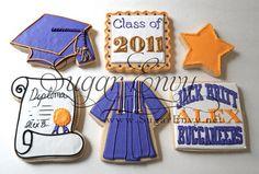 Great graduation cookies