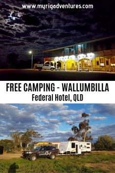 The Federal Hotel in Wallumbilla is the pub location of the IRON JACK AD! It offers FREE CAMPING out the back for travellers. Roadtrip Australia, Visit Australia, Travel Tours, Travel Destinations, Travel Ideas, Best Places To Travel, Places To Visit, Australian Road Trip, Airlie Beach