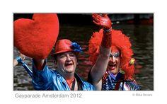 Street life Gayparade 2013 Amsterdam