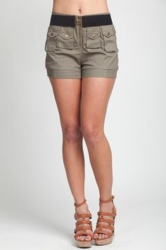 Cargo Shorts For Ladies