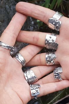 Silver Ring Repair Near Me Sterling Silver Earrings, Silver Jewelry, Silver Rings, Jewlery, Jewelry Necklaces, Jewelry Supply Store, Metal Clay Jewelry, Jewelry Making Tutorials, Jewelry Design