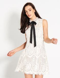 Chelsea Girl Lace Shift Dress | Dotti