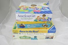 Board Game Lot of 5, American Girl 300 Wishes, Oh The Places You'll Go,   #Mixed