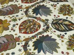 Cotton Tablecloth with Colorful Floral Print Square / by MilaStyle