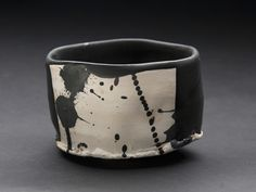 Robert Fornell    Black Iron Chawan  , 2012 Clay, Oxidation fired to cone 7 8 x 11 x 11 inches  /  20.3 x 27.9 x 27.9 cm  /  RFo 34