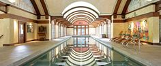 Olympic length indoor pool in Brookline, Mass.