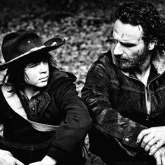 rick and carl | 17 Best images about Rick, Carl and Judith Grimes ♥ ♥ on ...