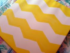 LOVE!!! Chevron is in right now (minus the burlap and pennants)