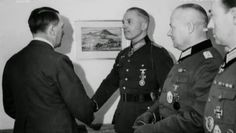 General der Artillerie Walther Kurt von Seydlitz-Kurzbach (22 August 1888 – 28 April 1976) became a Soviet collaborator while a prisoner of war. After the war he was convicted by the Soviet Union of War Crimes. In 1996, he was posthumously pardoned by Russia. Knight's Cross on 15 August 1940 as Generalmajor and commander of 12. Infanterie-Division; 54th Oak Leaves on 31 December 1941 as Generalmajor and commander of 12. Infanterie-Division